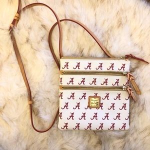 4a17e2a0f3a ... Dooney   Bourke Alabama Triple Zip Crossbody ...